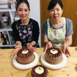 ふわふわ♡チョコとベリーのケーキ!!