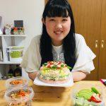 秋を彩るケーキ寿司&秋刀魚の南蛮漬け♪