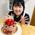 クリスマスにチョコとベリーの生ケーキ★