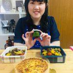 オシャレに夏を乗り切ろう!!キッシュ&夏野菜のバジルマリネ♪
