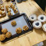 米粉スイーツ商品開発アドバイス⑫米粉シュー&シフォンケーキトッピング